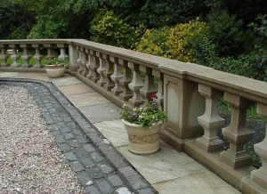 Natural Stone Balustrade