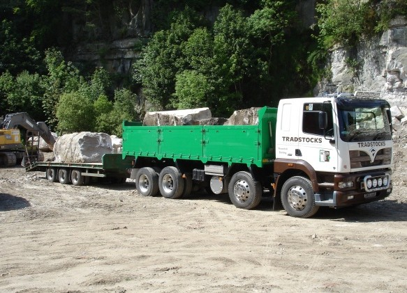 Our combination truck - 40t gross weight