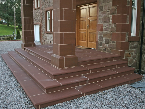 Bespoke natural stone products tradstocks for Steps to designing a house